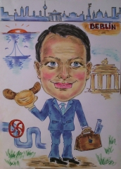 Karikaturist berlin