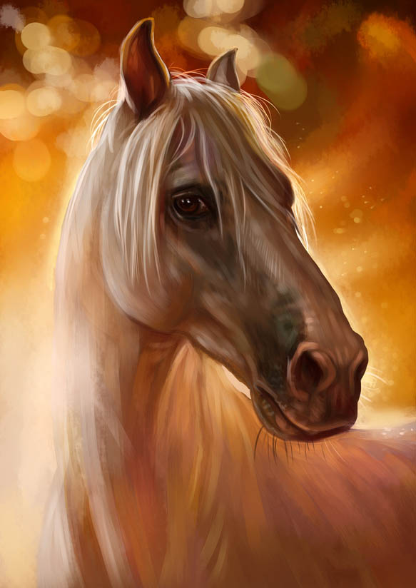 Maler Hamburg, Pferd